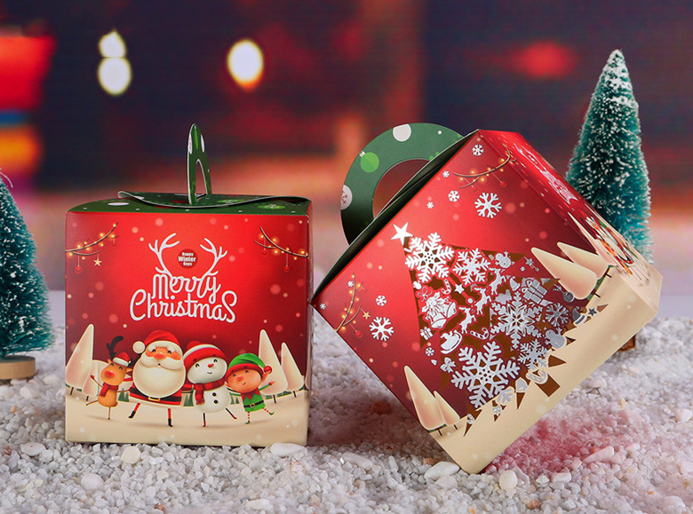 Collapsible Christmas Gift Rigid Boxes