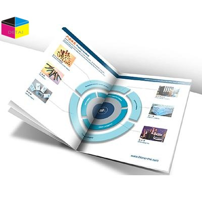 High end business product brochure