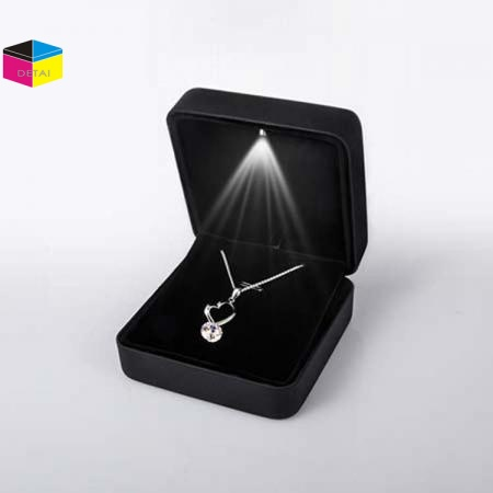Luxury led jewelry necklace boxes