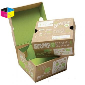 Foldable shoe boxes