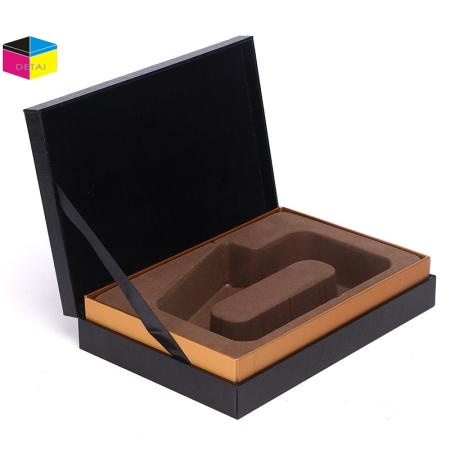 Rigid Cosmetic Boxes with Flocking Insert