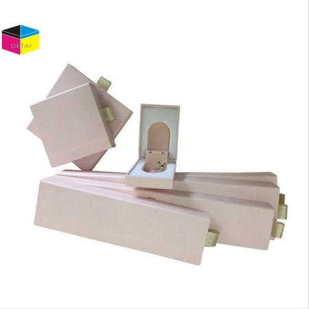 Textured Paper Jewelry Boxes Sets