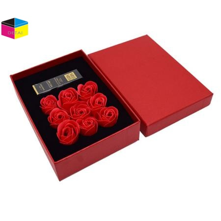 Quality Textured Big Gift Box Flower Packing Box